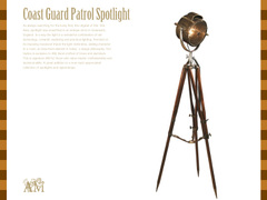 Coast Guard Patrol Spotlight